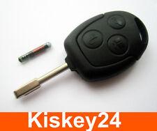ébauche de clé + transpondeur pour Ford focus fiesta mondeo transit de KA ESCORT