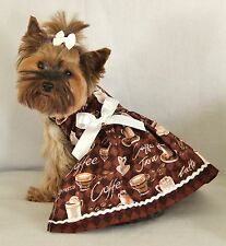 XXS ~ Coffee Lovers ~Dog dress clothes pet aparrel teacup puppy PC Dog®
