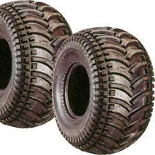 2) 22/11-9 22x11-9 22x11.00-9 22/1100-9 Deestone D930 ATV Go Kart Tires 4ply
