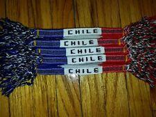12 Handmade Friendship Bracelet Cotton  Chile