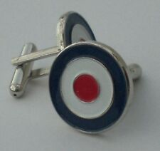 RAF Roundel Mod Target Quality  Enamel Cufflinks