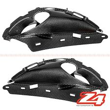 2008-2017 Hayabusa GSX1300R Upper Front Nose Headlight Scoop Cover Carbon Fiber