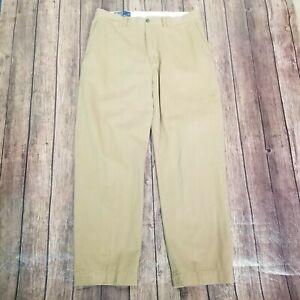Polo Ralph Lauren Khaki Pants Mens Size 34x30 Tan