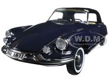 1961 CITROEN DS19 CABRIOLET ROYAL BLUE 1/18 DIECAST CAR MODEL BY NOREV 181564