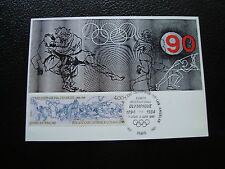 FRANCE - carte 1er jour 2/6/1984 (jeux olympiques) (cy39) french