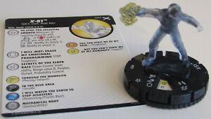 X-51 057 Terre X Marvel Heroclix Super Rare