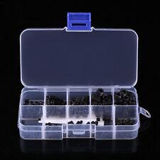 200pcs 12.9 class Head Socket Hex Set Grub Screw Assortment Kit Cup Point yfq