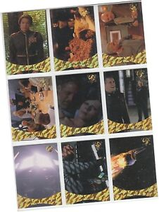 "Babylon 5 Season 5 (Five) - 9 Card ""Sleeping In The Light"" Chase Set S1-S9"