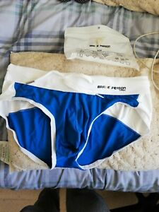 Blue Men's Swimming Briefs