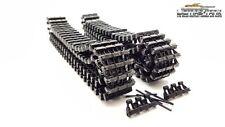 Heng Long réservoir 1:16 4 PANZER IV Chaînes métalliques Set noir + roues