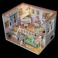 New DIY Miniature Dollhouse Furniture Doll Room Decor Kits - Because of You