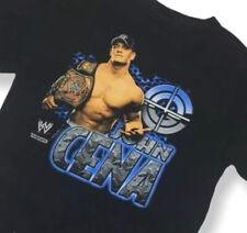 John Cena WWE Raw Black T-Shirt Small Short Sleeve 2007 Wrestling