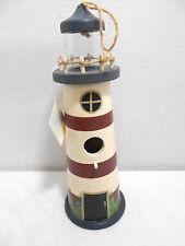 Faith Rollins Collection By The Sea Lighthouse Birdhouse #24719