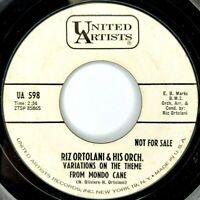 Riz Ortolani - Promo 45 RPM - Variations on the Theme From Mondo Cane / More