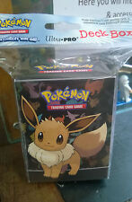 Pokemon Eevee Deck Box Card Protection for Pokemon Trading cards Sealed pack