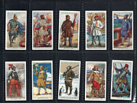 PLAYER - HISTORY OF NAVAL DRESS - FULL SET OF 50 CARDS