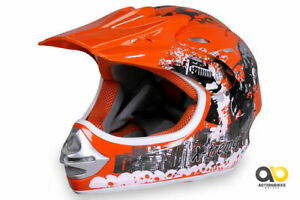 Kinder Cross Helm X-treme Motocross Kinderhelm Quadhelm