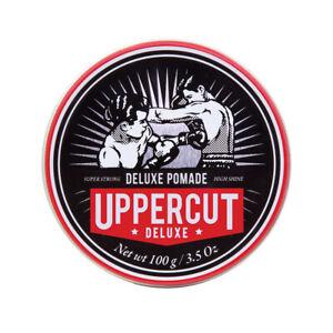 Uppercut Deluxe Pomade Strong Hold High Shine Hair Styling Pomade For Men 100g