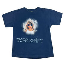 Taylor Swift 1989 World Tour T Shirt Kids Girls Size Medium Navy Blue