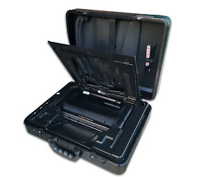 Parat Notebookkoffer für Notebook und ein HP 100 Drucker