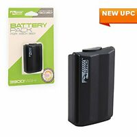 Compatible With Rechargeable Battery Pack Black For Xbox 360 Brand New 4E