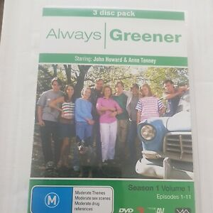 Always Greener Season 1 Volume 1 DVD Australian Tv Series Comedy