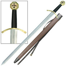 Order of the Temple Medieval Knights Templar Crusader Renaissance Sword