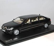 GLM-Great lighting models, 2012 BINZ MERCEDES-BENZ w212 6-door, Black, 1/43
