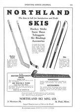 Northland Skis  - Hockey Sticks  -  Ocean City Mfg. Co.  - Fishing Reels  - 1929