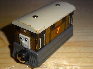 TOBY the Tram Thomas Tank & Friends Wooden Railway Engine train Sodor 2003