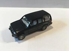 Modello di auto 1:87 Wiking MITSUBISHI FUORISTRADA in nero come nuovo