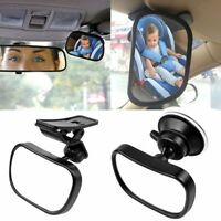 New Car Baby Back Seat Rear View Mirror for Infant Child Toddler Safety bP