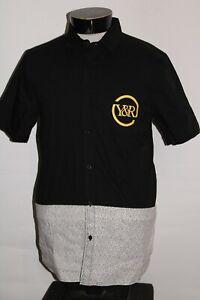 YOUNG & RECKLESS Mens medium M Button-up shirt Combine ship Discount