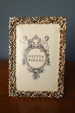 "OLIVIA RIEGEL Crystal ""Regina"" 4x6 Photo Frame"