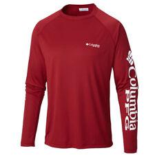 "New Mens Columbia Pfg ""Terminal Tackle"" Omni-Shade / Wick T-Shirt Top Tee Polo"