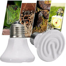 25-100W Pet Reptile Breed Ceramic Heat Emitter Heater Lights Brooder 'Lamps Bulb