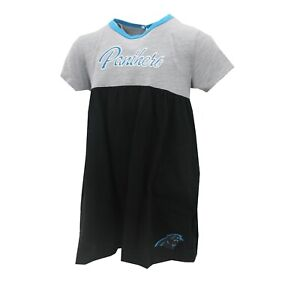 Carolina Panthers Official NFL Apparel Baby Infant Girls Size Dress New Tags