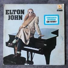 Elton John – Concierto Grabado En Vivo! Lp Venezuela 1976 Pop Rock