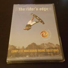 The Rider's Edge: Complete Wakeboard Riding Solutions (DVD) Zane Schwenk NEW