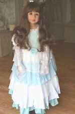 """Masterpiece Dolls Cinderella Wavy Brown Hair, Brown  Eyes, Monka Levenig, 48"""""""