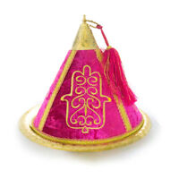 Moroccan Mida Centre piece cone candy covering henna display hamsa