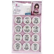 Santoro Gorjuss Mini Stamps Set - AIR MAIL