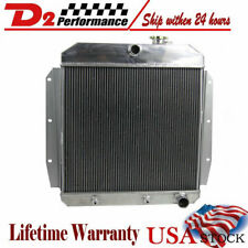 3Row Core Aluminum Radiator For Chevy /GMC Truck Pickup 1955-1959 55 56 57 58 59