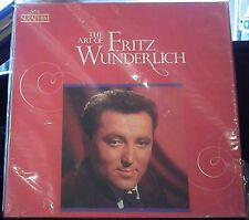 The Art of Fritz Wunderlich   3 lps    DMM Seraphim