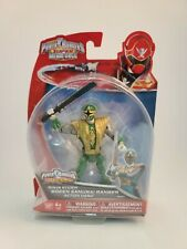 Power Rangers Super Megaforce Ninja Storm GREEN SAMURAI RANGER Figure UNOPENED