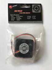 Link Depot DC Computer Cooling Fan 40x40x20mm 12 VDC 72000 RPM 4020-G