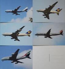 20 neue Postkarten, Flugzeuge, Technik, Vielschreiber, Postcrossing