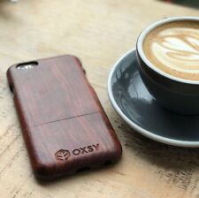 OXSY Rosewood Solid Real Wood Case Cover - Apple iPhone 6 / 6S