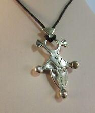 Ciondolo argento 8oo Croce Tuareg  ( croce del sud) cm4,2 x 2,6 gr 5,4