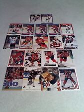 *****Claude Lemieux*****  Lot of 75+ cards.....41 DIFFERENT / Hockey